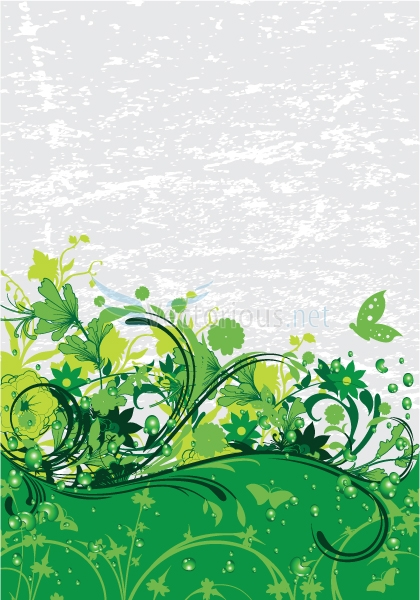 image from http://www.vectorious.net/data/media/2/2675-floral-background.jpg