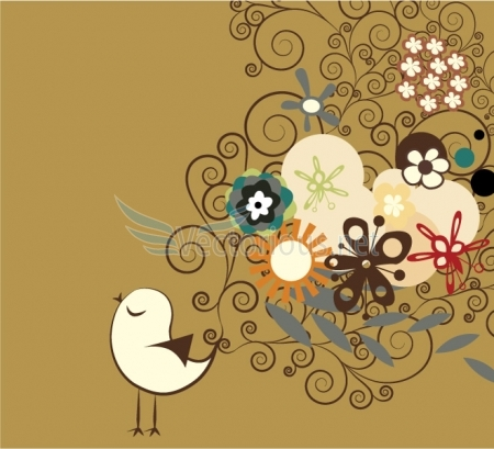 image from http://www.vectorious.net/data/media/8/2750-abstract-bird-with-floral.jpg